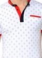 Dewberry Polo Yaka Tişört Beyaz
